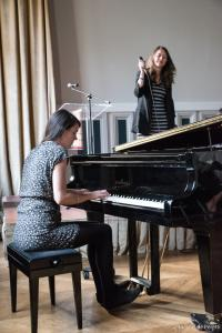 Poème de Rilke écrit à l'hôtel Foyot (1925) : « La danse dans l'escalier »Par Katja Brunkhorst / Martina Wildt au piano
